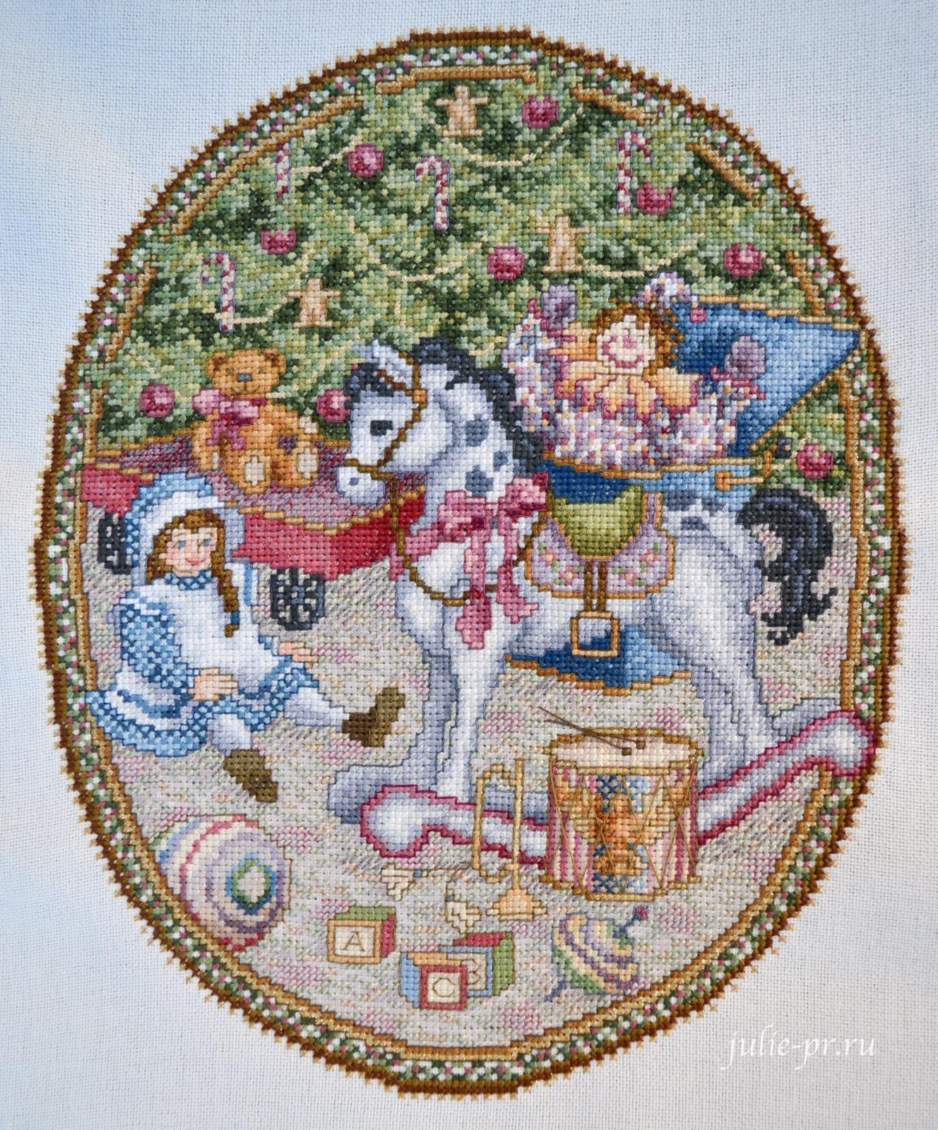 Teresa Wentzler, Under the Evergreen, вышивка крестом, Тереза Венцлер
