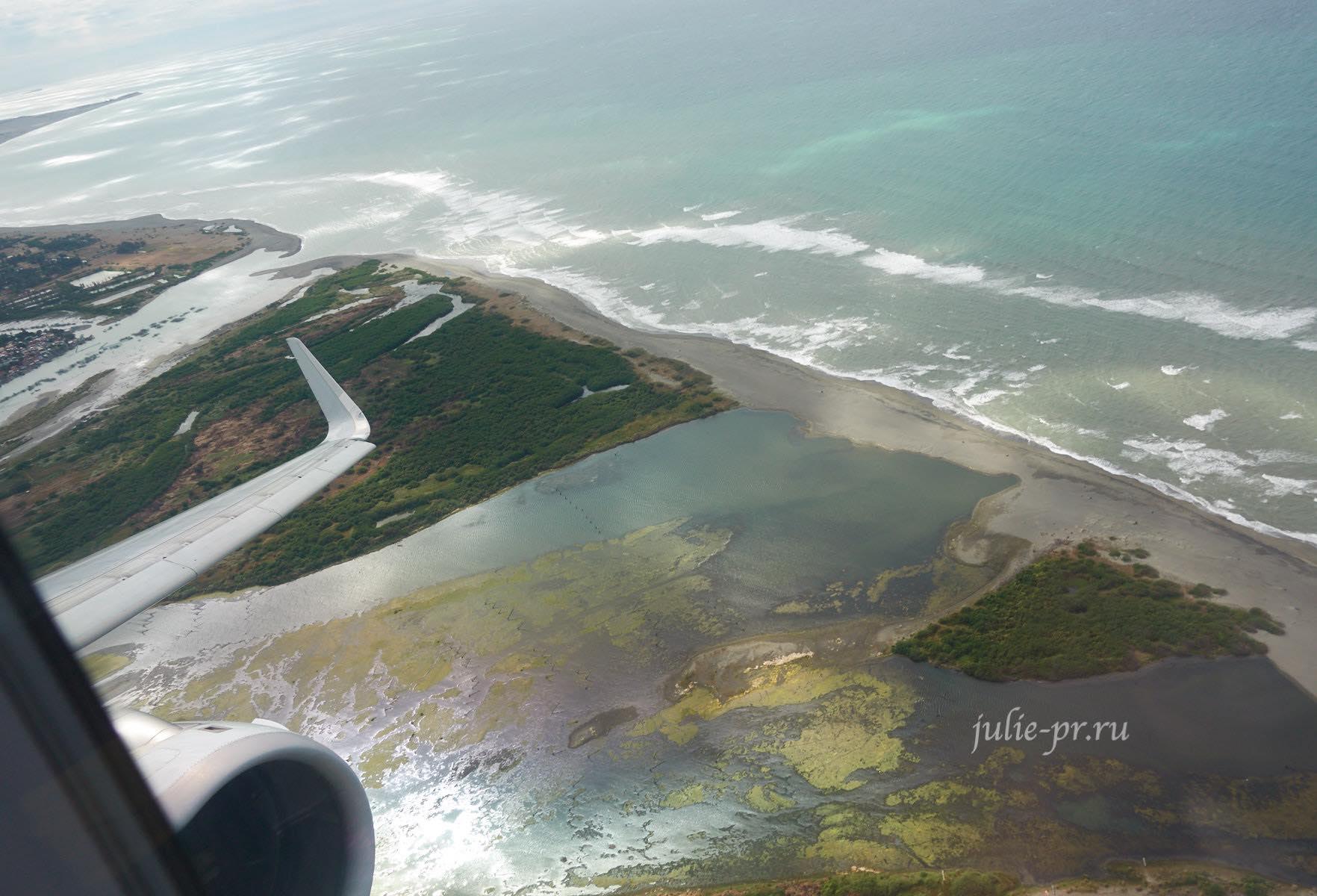 Филиппины, Лусон, вид с самолёта