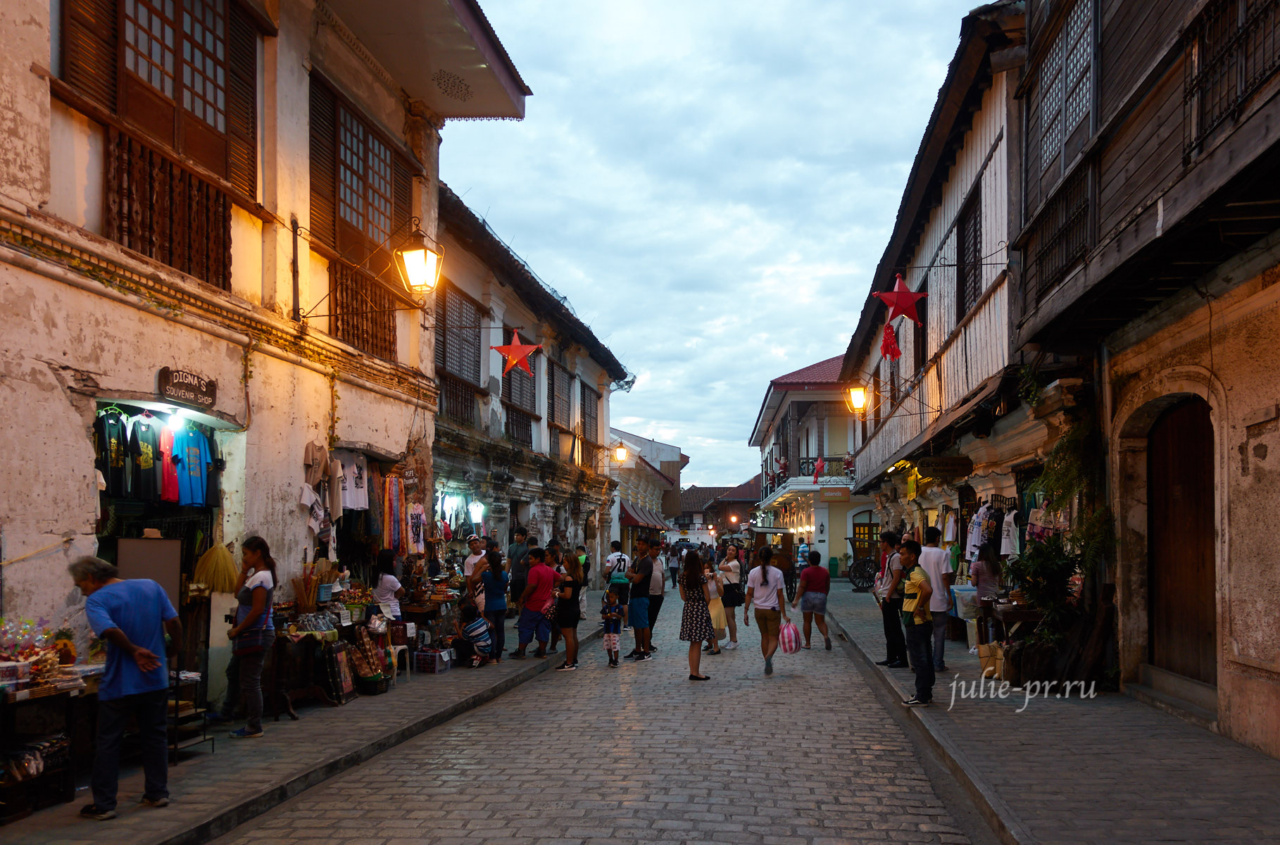 Филиппины, Виган, колониальная испанская архитектура