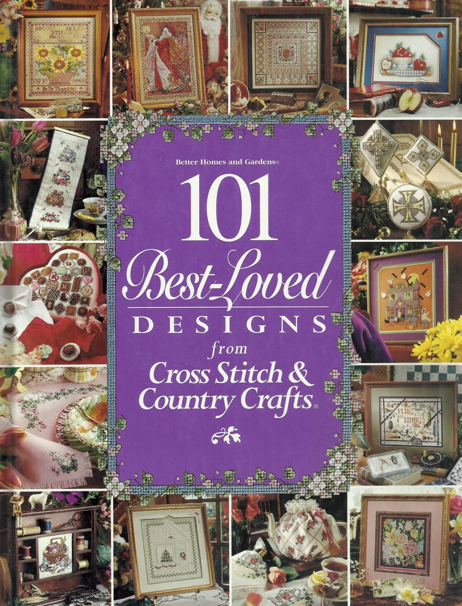 Книга 101 Best-Loved designes from Cross Stitch & Country Crafts, 101 лучший дизайн из журнала Cross Stitch & Country Crafts
