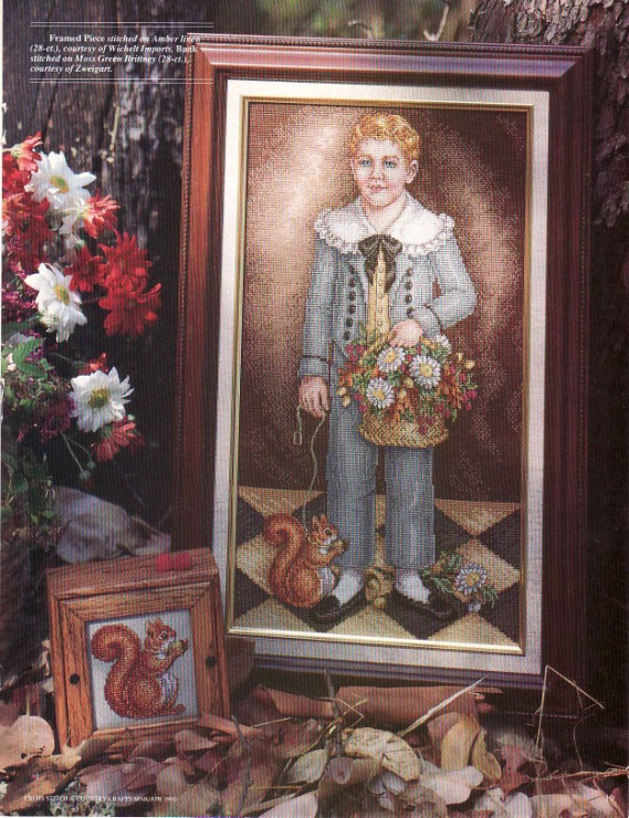Cross Stitch & Country Crafts - Young man's fancy