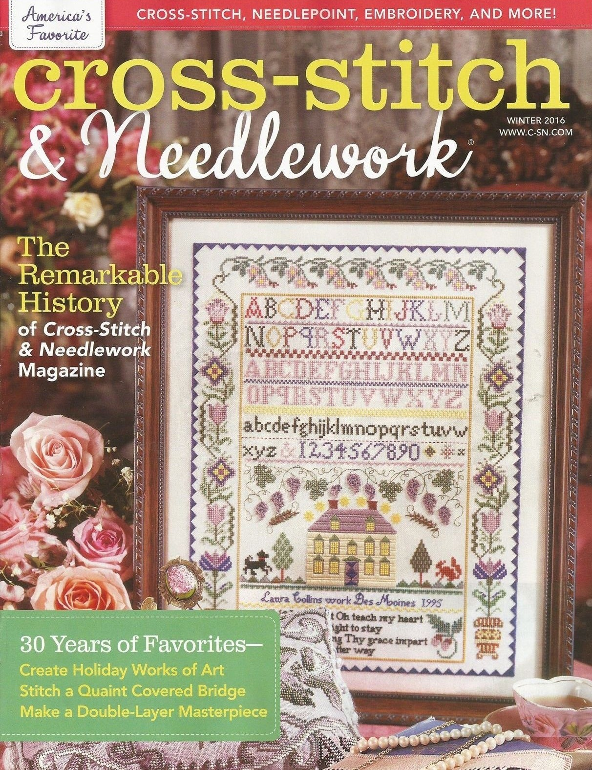 Cross Stitch and Needlework winter 2016