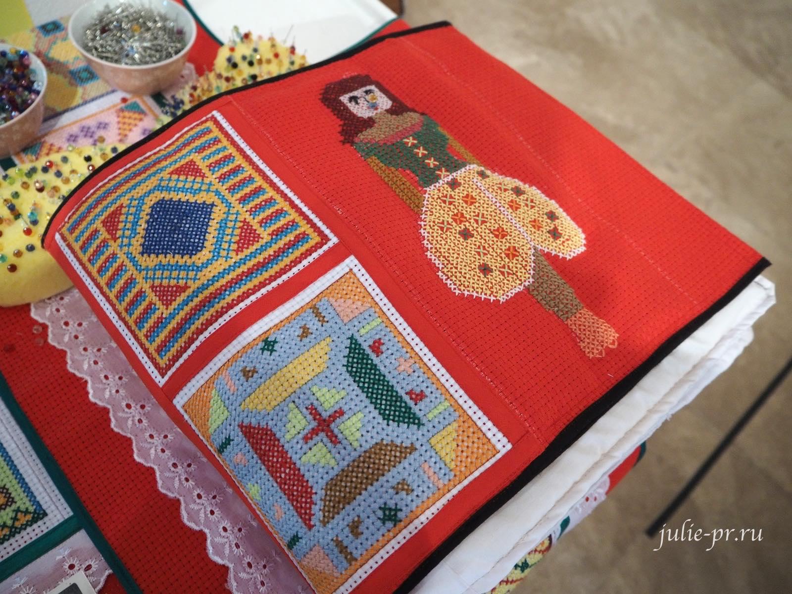 куклы выставка, Bayaning Inday, вышивка, Филиппины, Манила