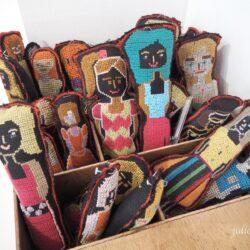 Выставка вышивки Bayaning Inday в Маниле