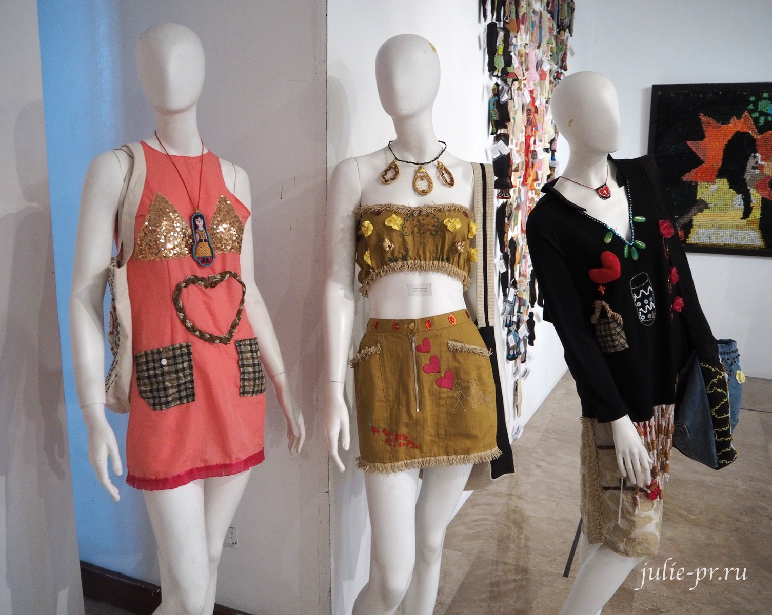 выставка, Bayaning Inday, вышивка, Филиппины, Манила