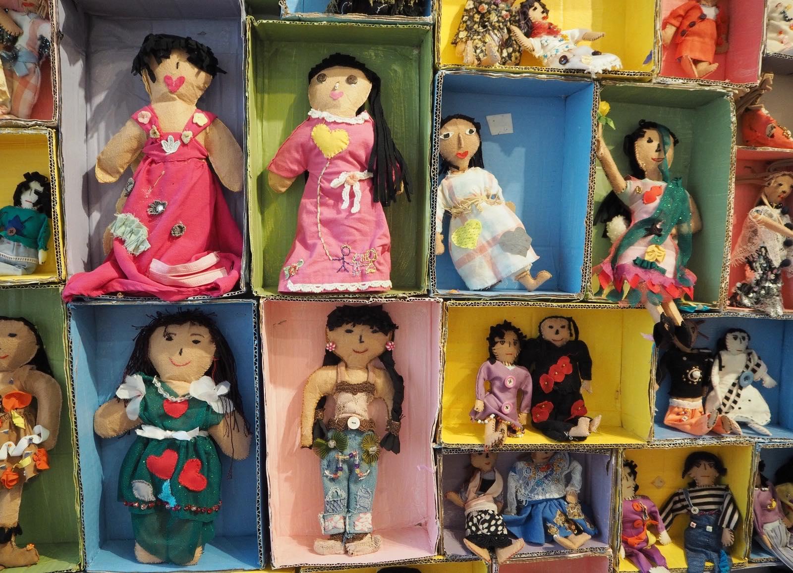 куклы, выставка, Bayaning Inday, вышивка, Филиппины, Манила