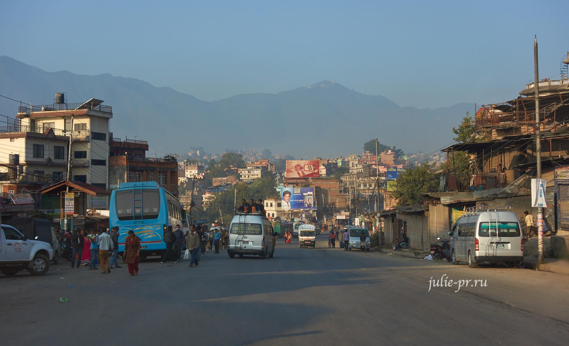 Непал, Катманду, дорога