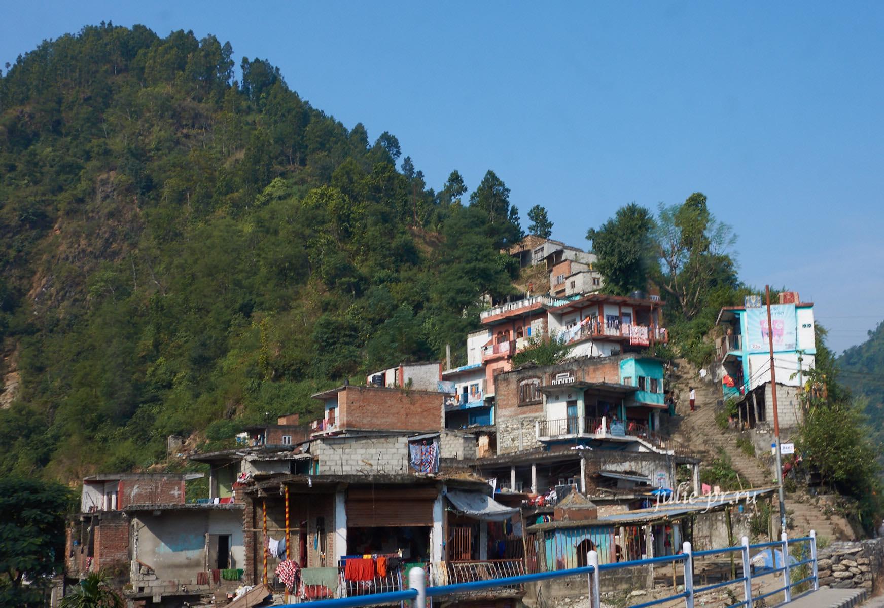 Непал, деревня