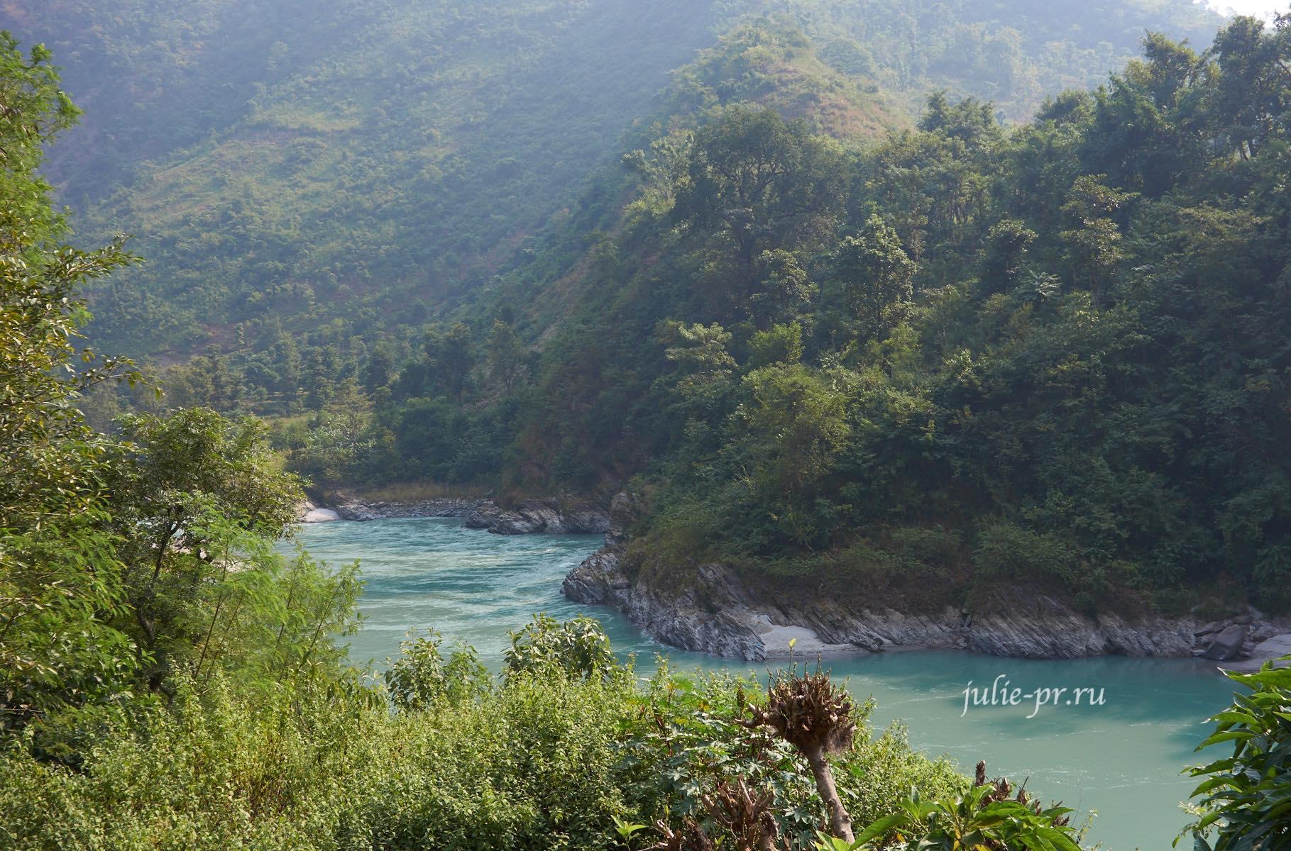 Непал, река Трисули