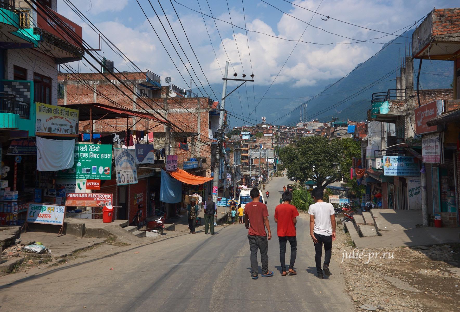 Непал, Аннапурна, Бесисахар
