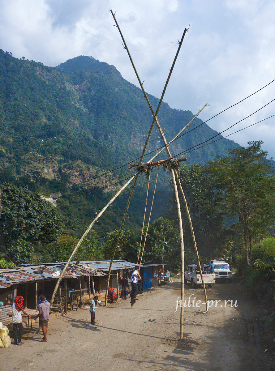 Непал, Аннапурна, качели