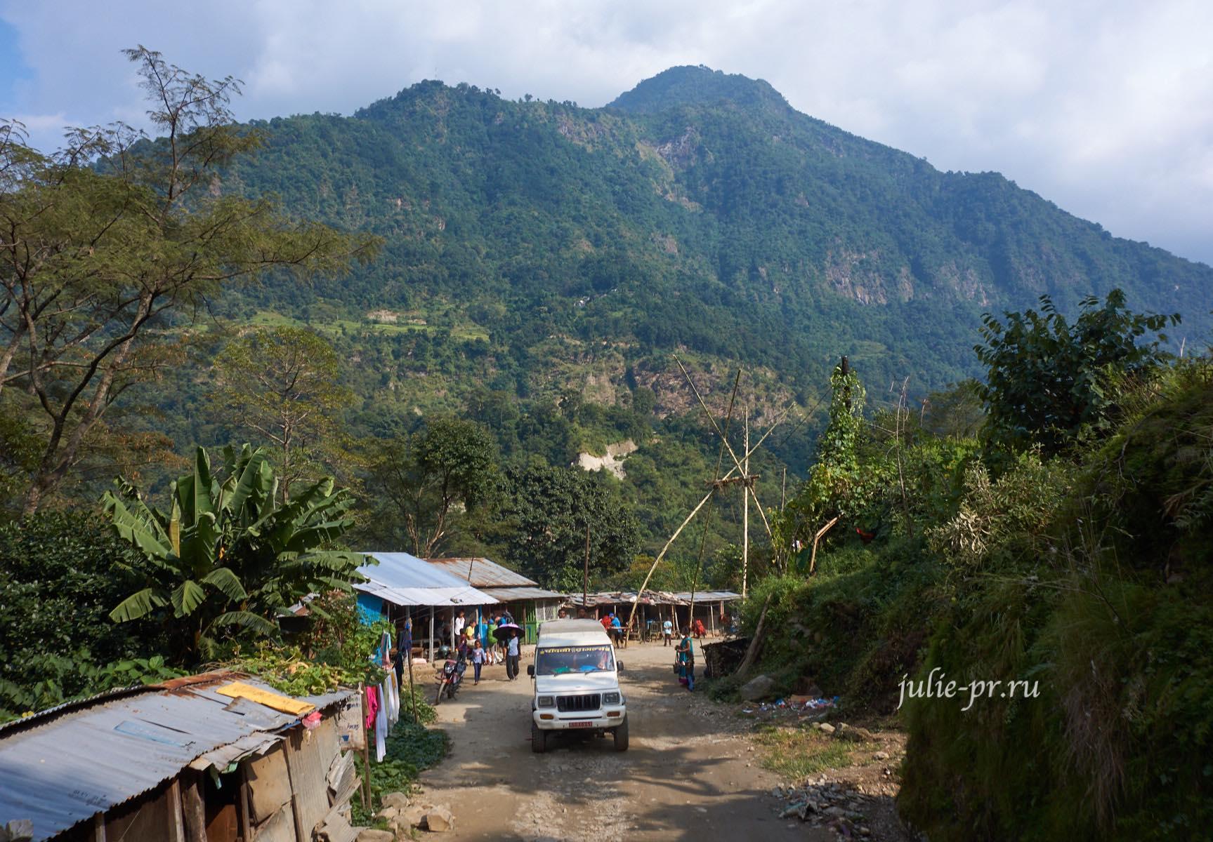 Непал, Аннапурна, джип