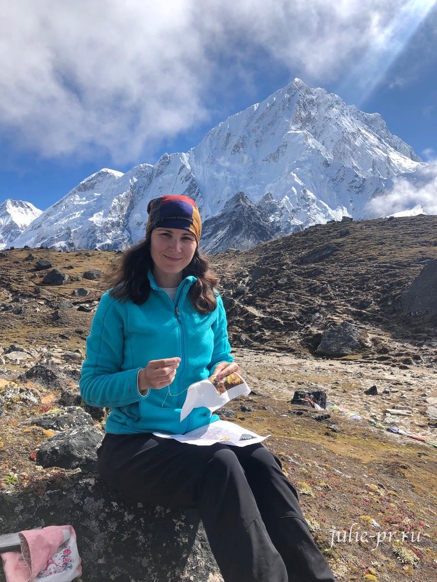 Dimensions 74135, Fall Banner, Осенний баннер, Debbie Mumm, вышивка крестом, сова, осень, Непал, перевал Лобуче