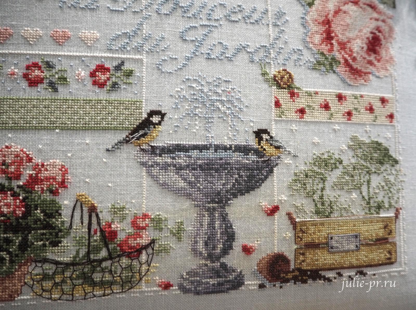 Fili senza tempo, Madame la fee, La Douceur du Jardin, Нежность сада, вышивка крестом