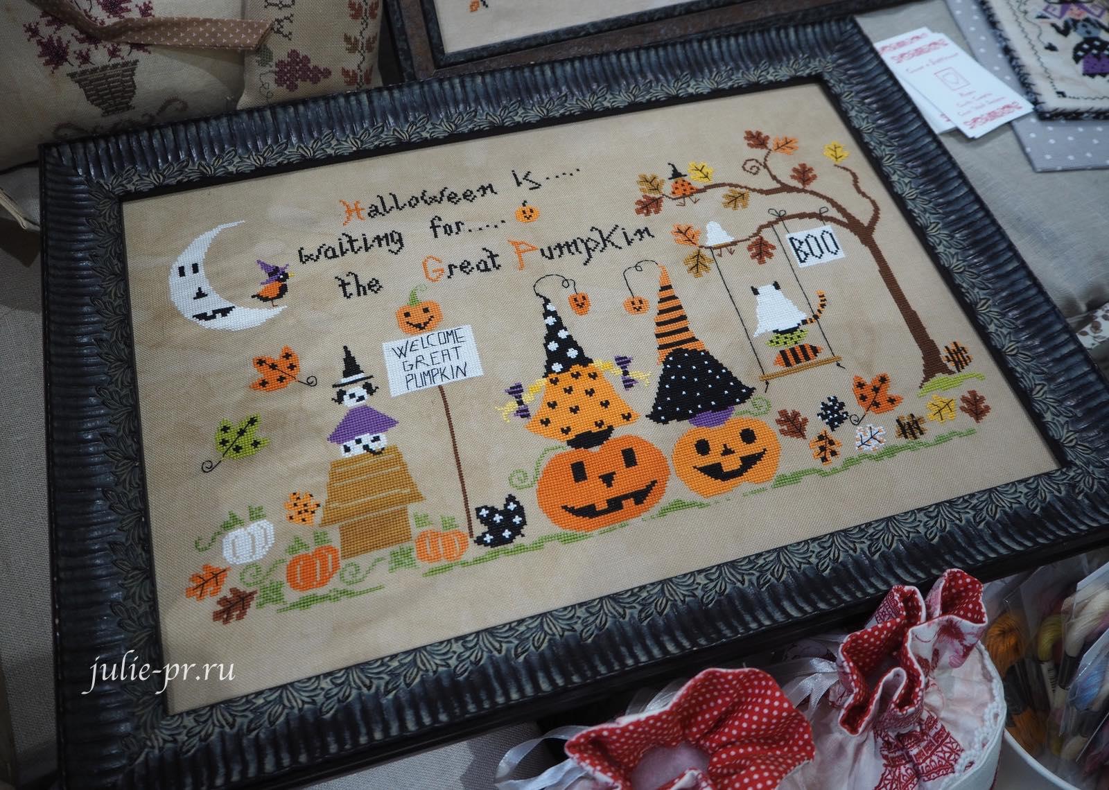 Cuore e Batticuore, Welcome Great Pumpkin, вышивка крестом, хеллоуин