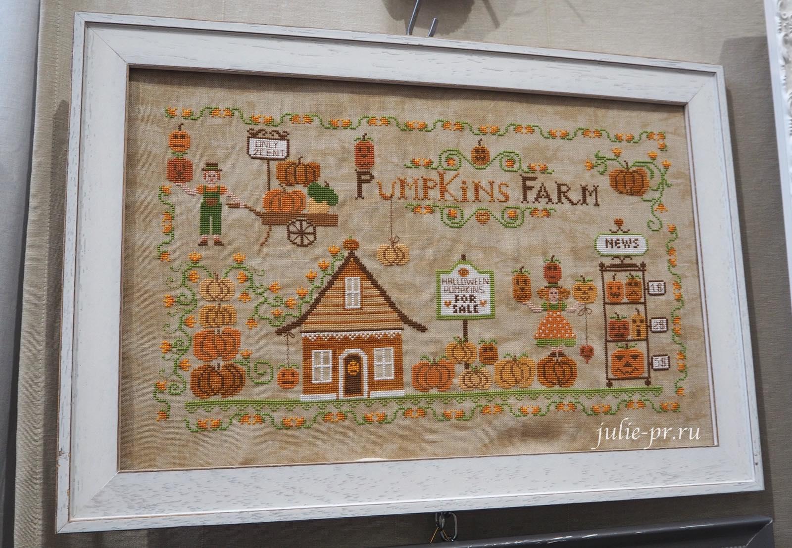 Cuore e Batticuore, Pumpkins Farm, Ферма тыкв, вышивка крестом