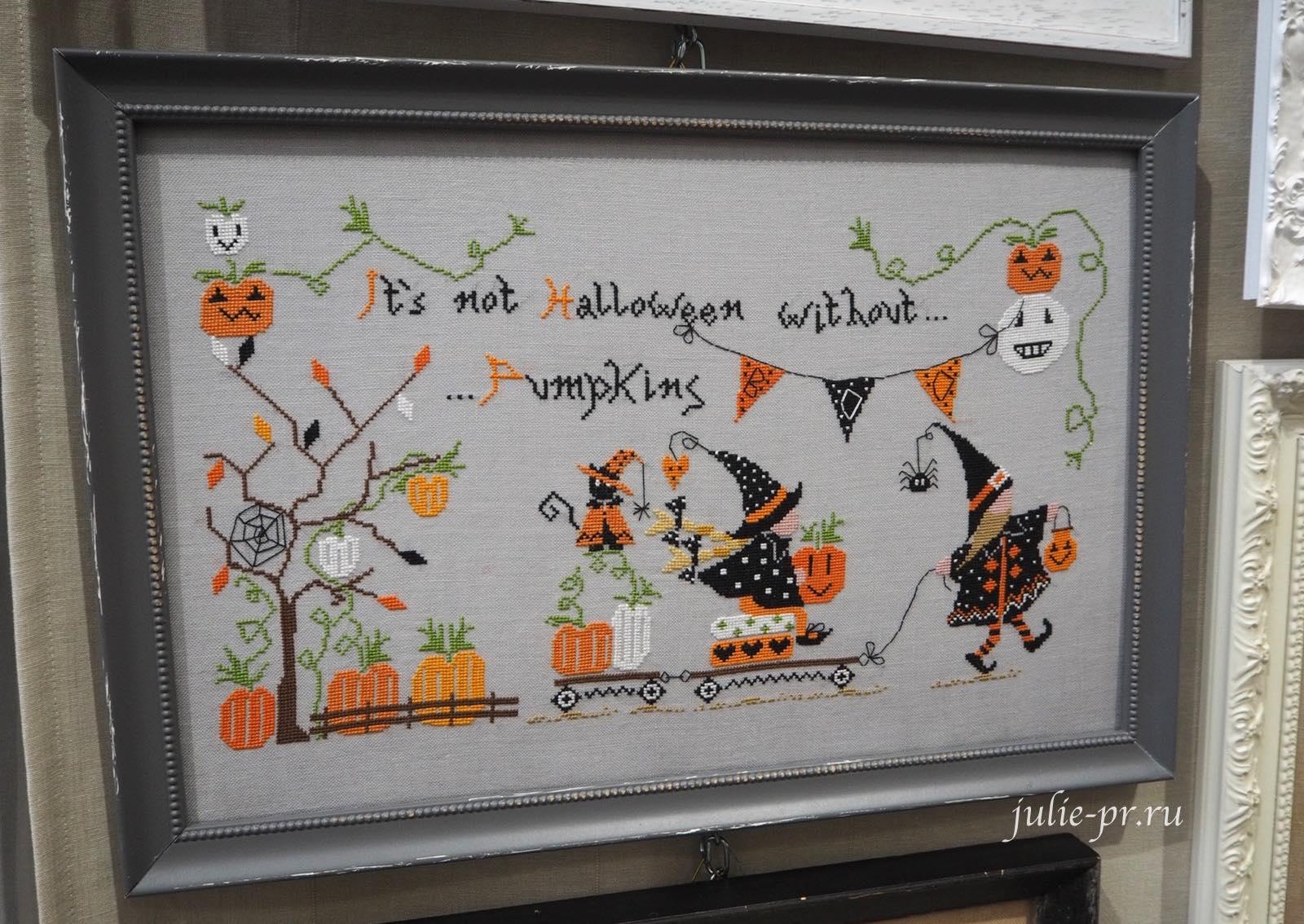 Cuore e batticuore, Non e Halloween senza Zucche, Нет хэллоуина без тыкв, вышивка крестом