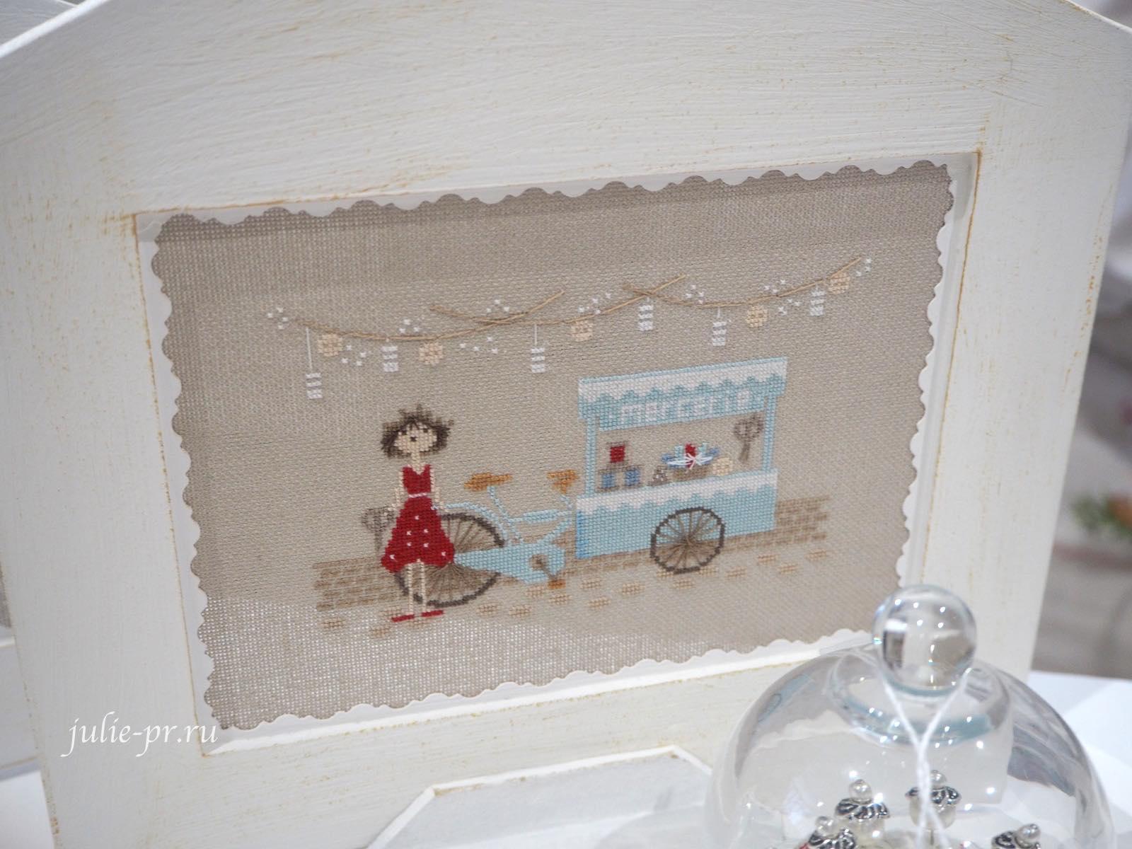 Jennifer Lentini, Aguille en Fete, вышивальщица, вышивка крестом