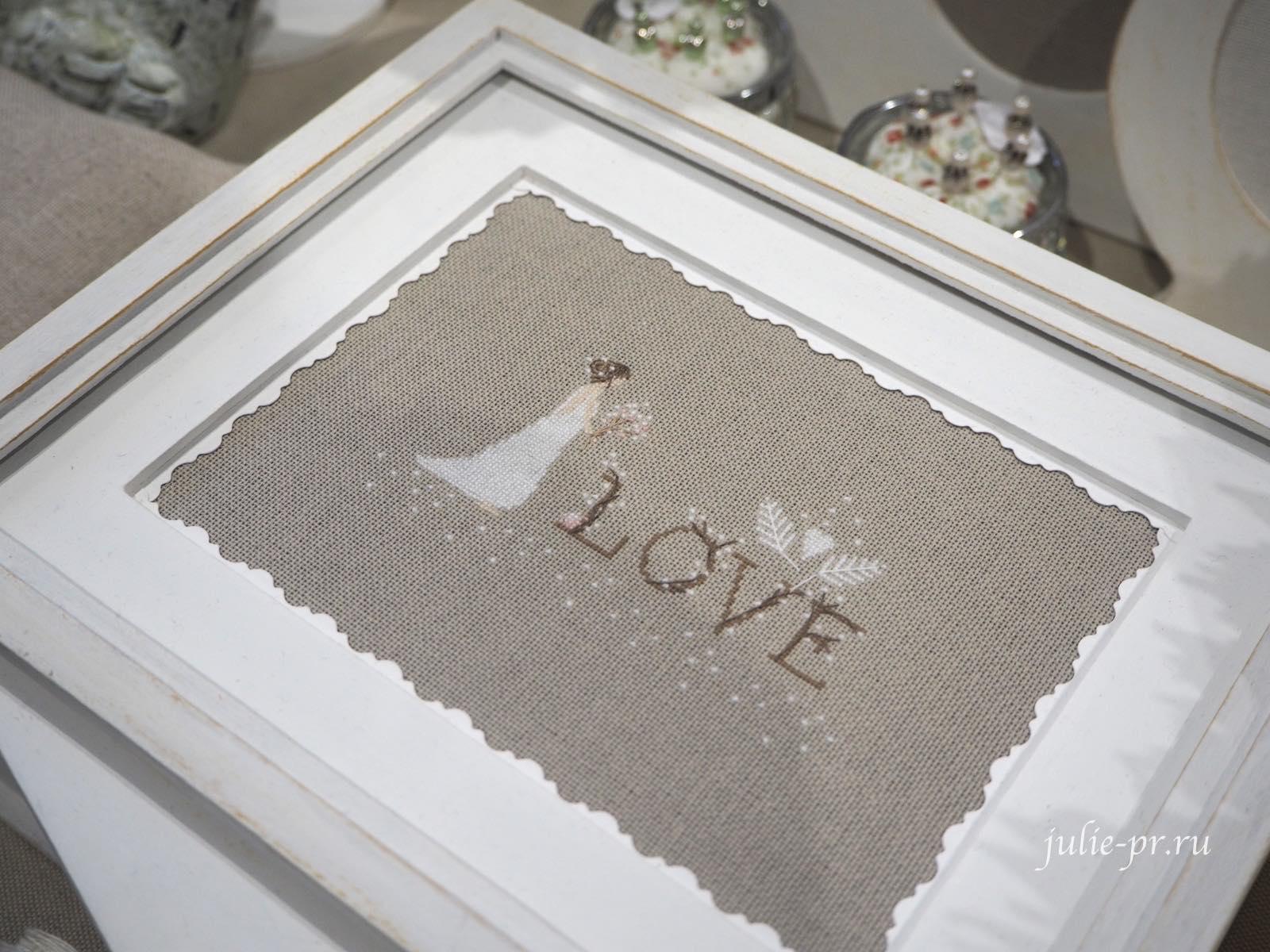 Jennifer Lentini, Love, любовь, свадебная, вышивка крестом