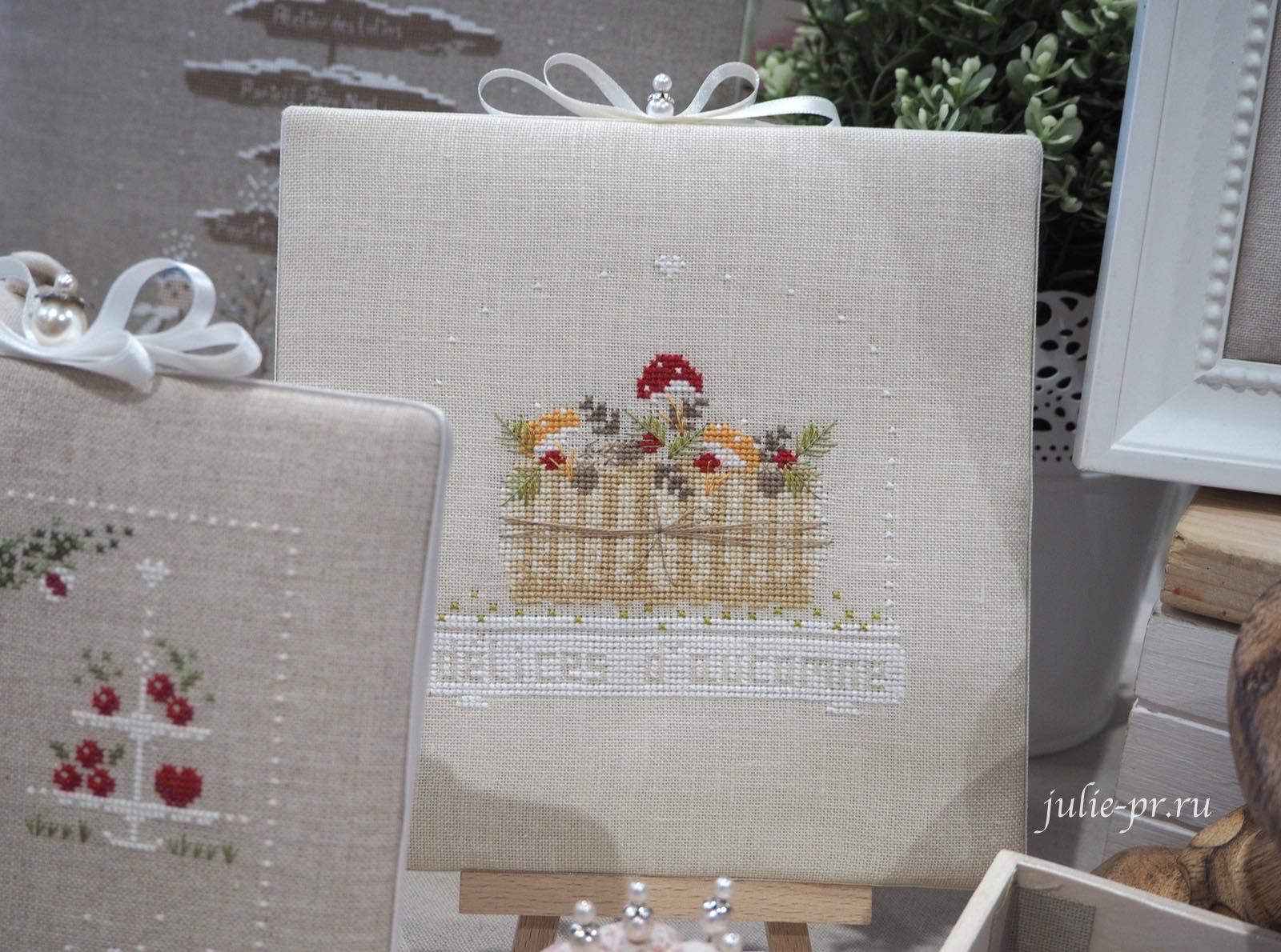 Jennifer Lentini, Delice d'automne, дары осени, грибы, вышивка крестом