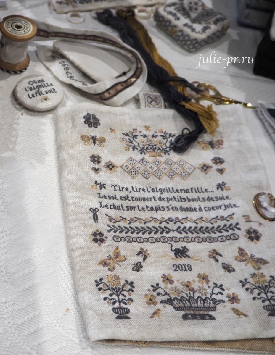 Atelier des fées brodeuses, Marie Le Gouis, вышивка крестом