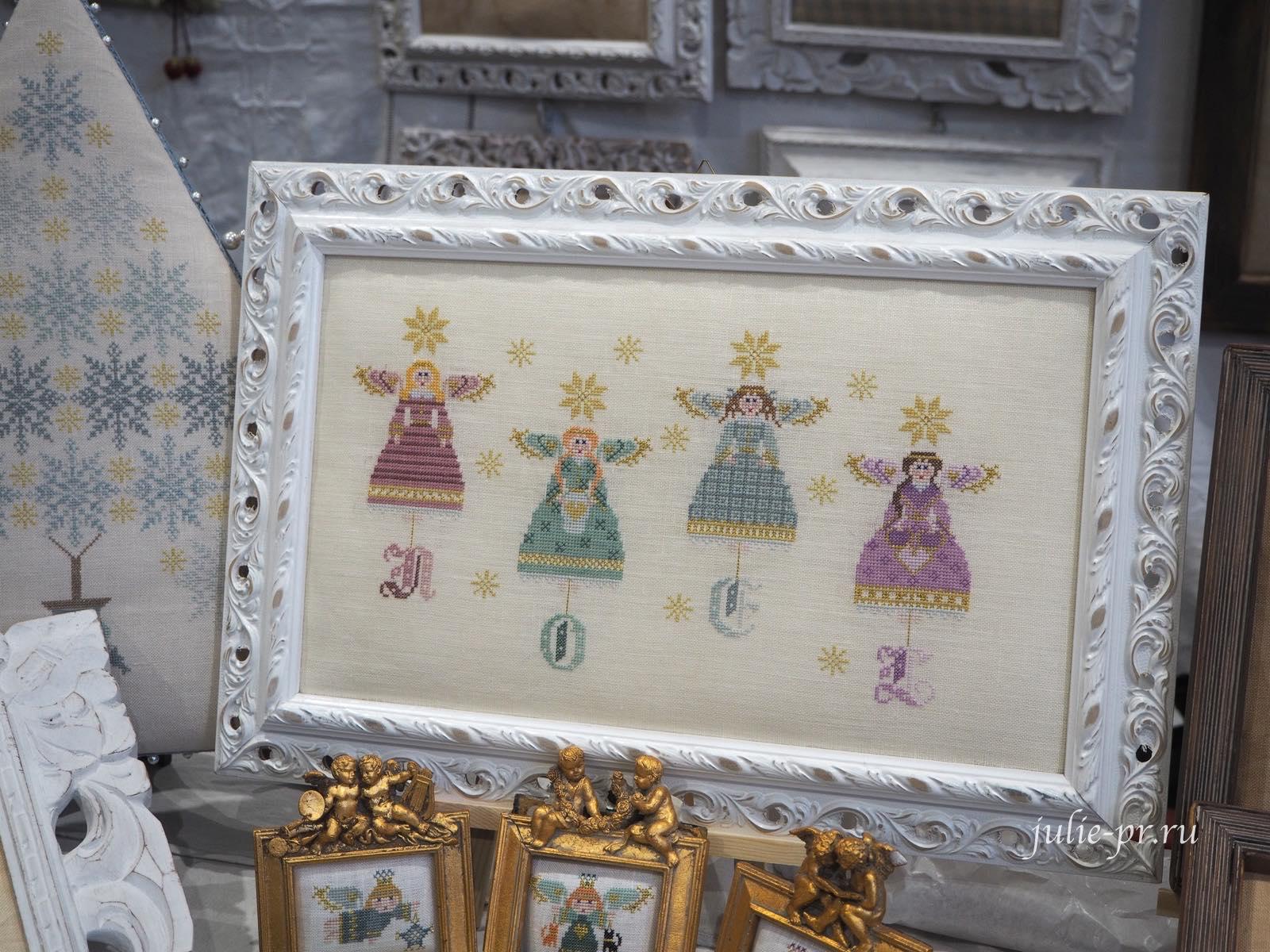 Paola Gatti Blu, вышивка крестом, fili senza tempo