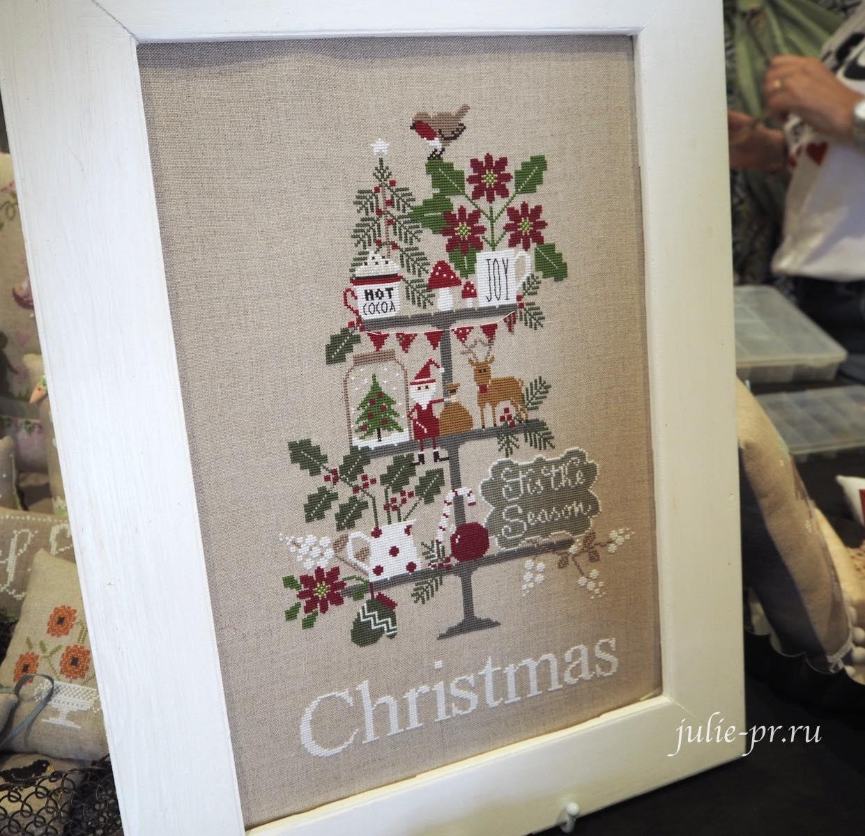 Madame Chantilly, Celebrate Christmas, вышивка крестом