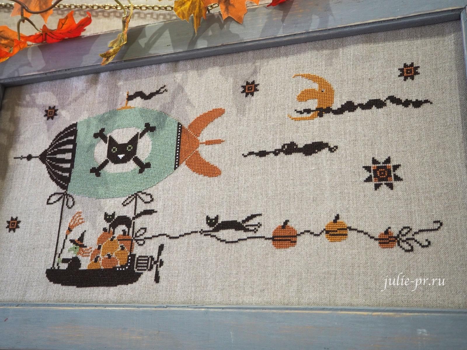 Madame Chantilly, Pumpkins thieves, Воришки тыкв, вышивка крестом