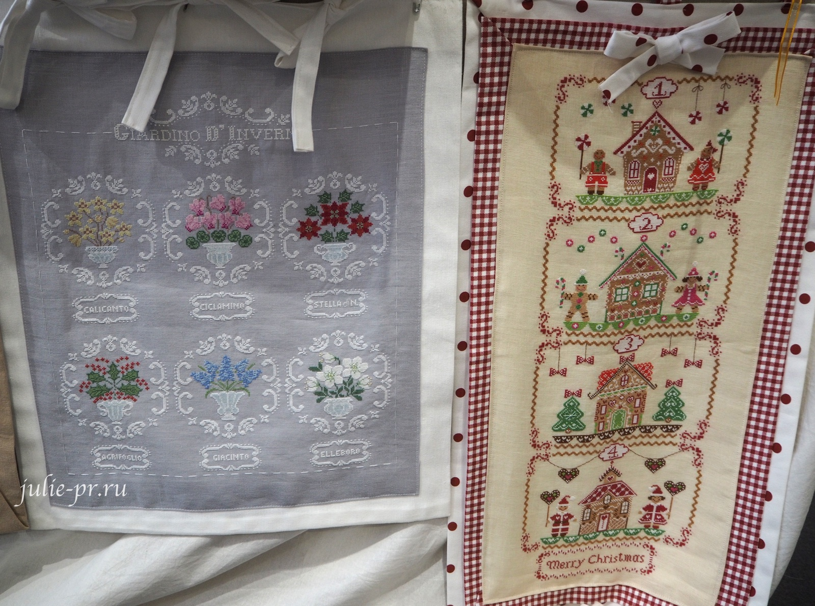 Cuore e Batticuore, Giardino d'Inverno, Зимний сад, Dolci Domeniche d'Avvento, вышивка крестом