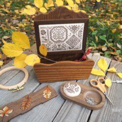 Осенние аксессуары для вышивки
