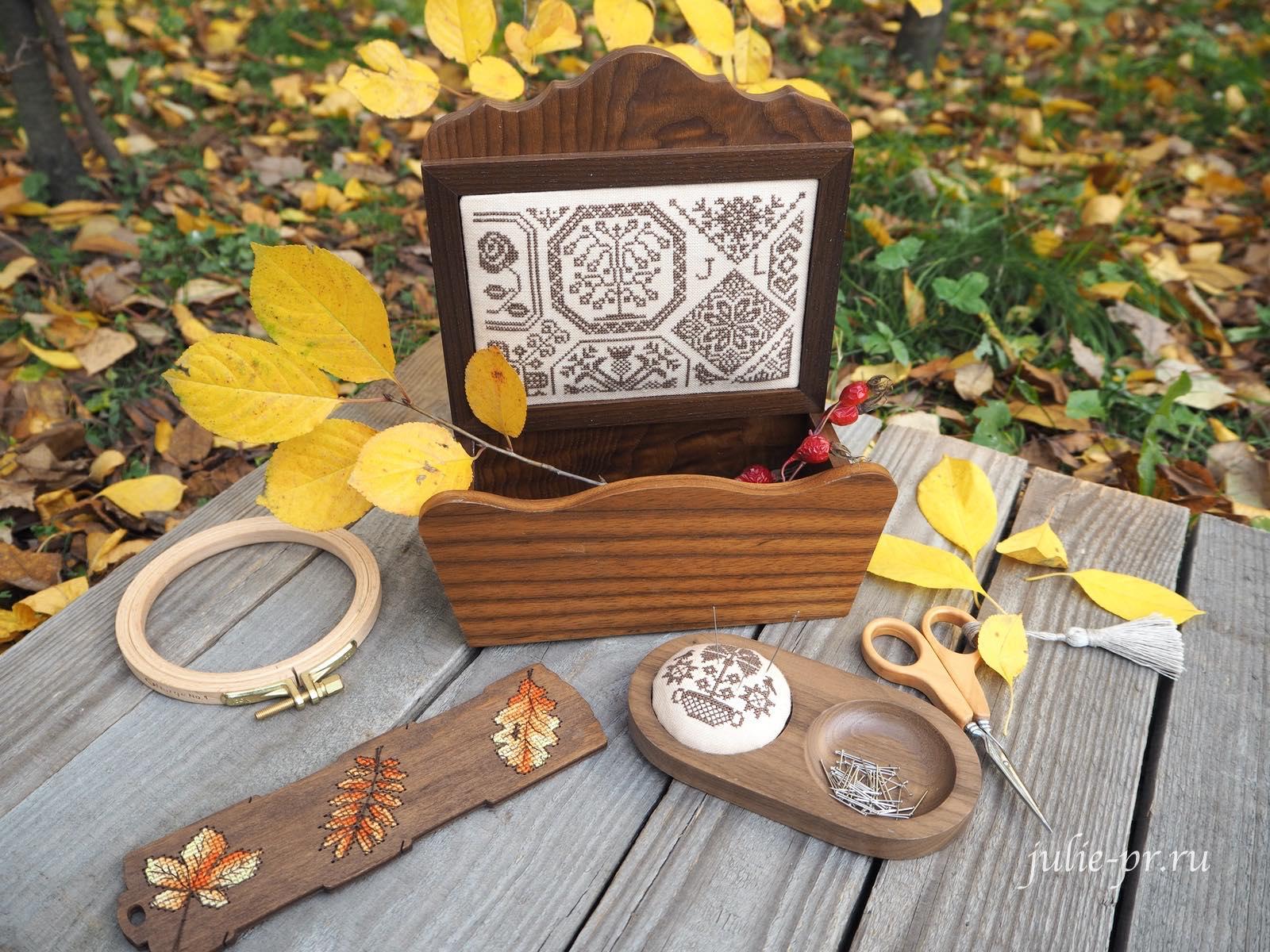 Plum street samplers, Quaker calendar V, вышивка крестом, примитив, квакер, Xiu Crafts, деревянная бобинка Колесниковой, Gazette94, Quaker