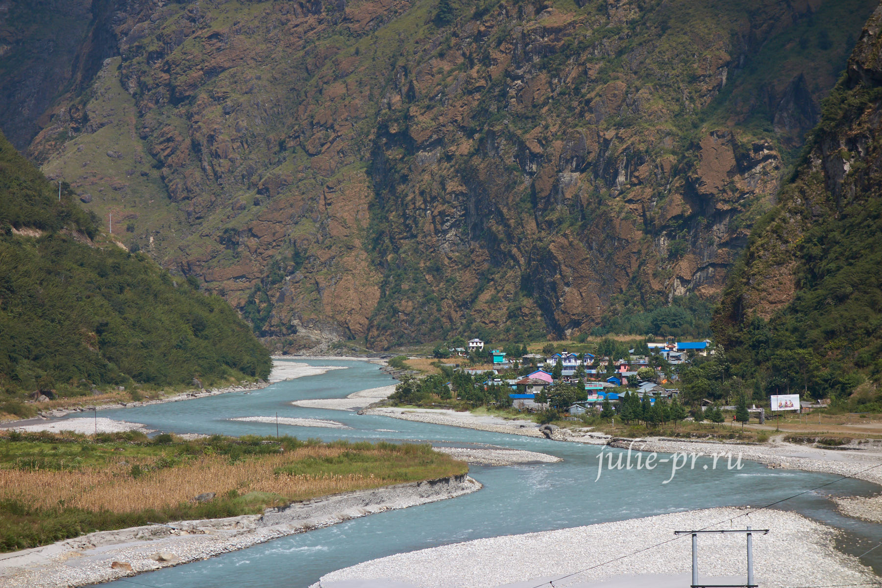 Непал, Трек вокруг Аннапурны, Деревня Тал