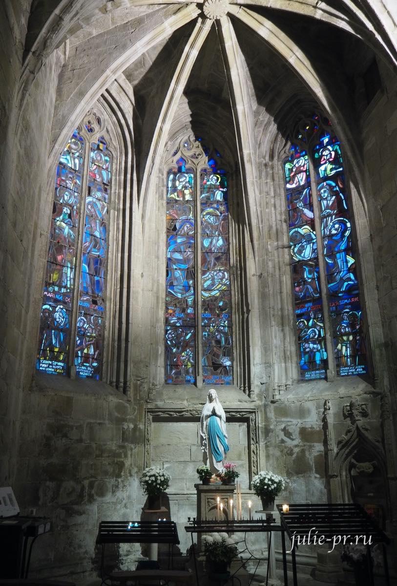 Динан, Бретань, Франция, Базилика Святого Спасителя