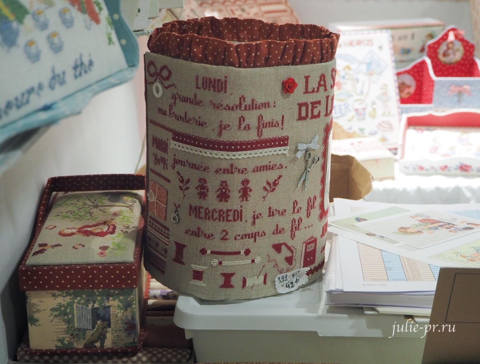 вышивка крестом, Des histoires a broder, рукодельный салон Creations & Savoir-Faire 2019, рукодельная выставка, Париж