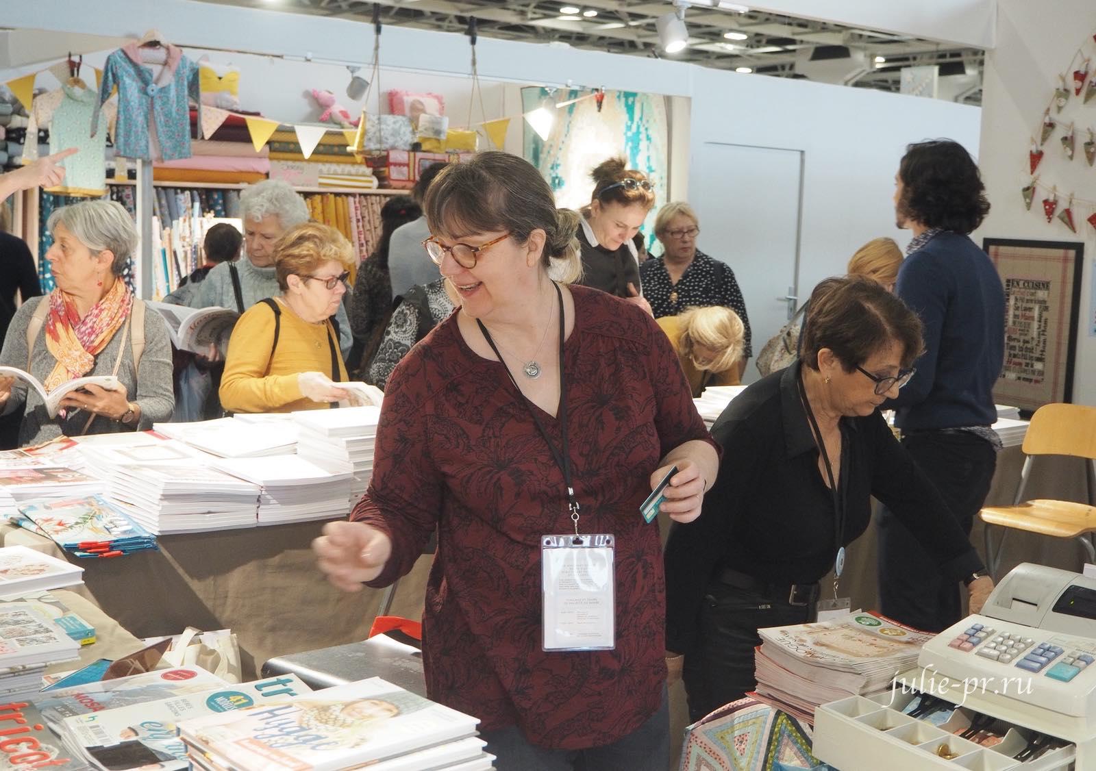 Изабель Вотье, Isabelle Vautier, вышивка крестом, рукодельный салон Creations & Savoir-Faire 2019, рукодельная выставка, Париж