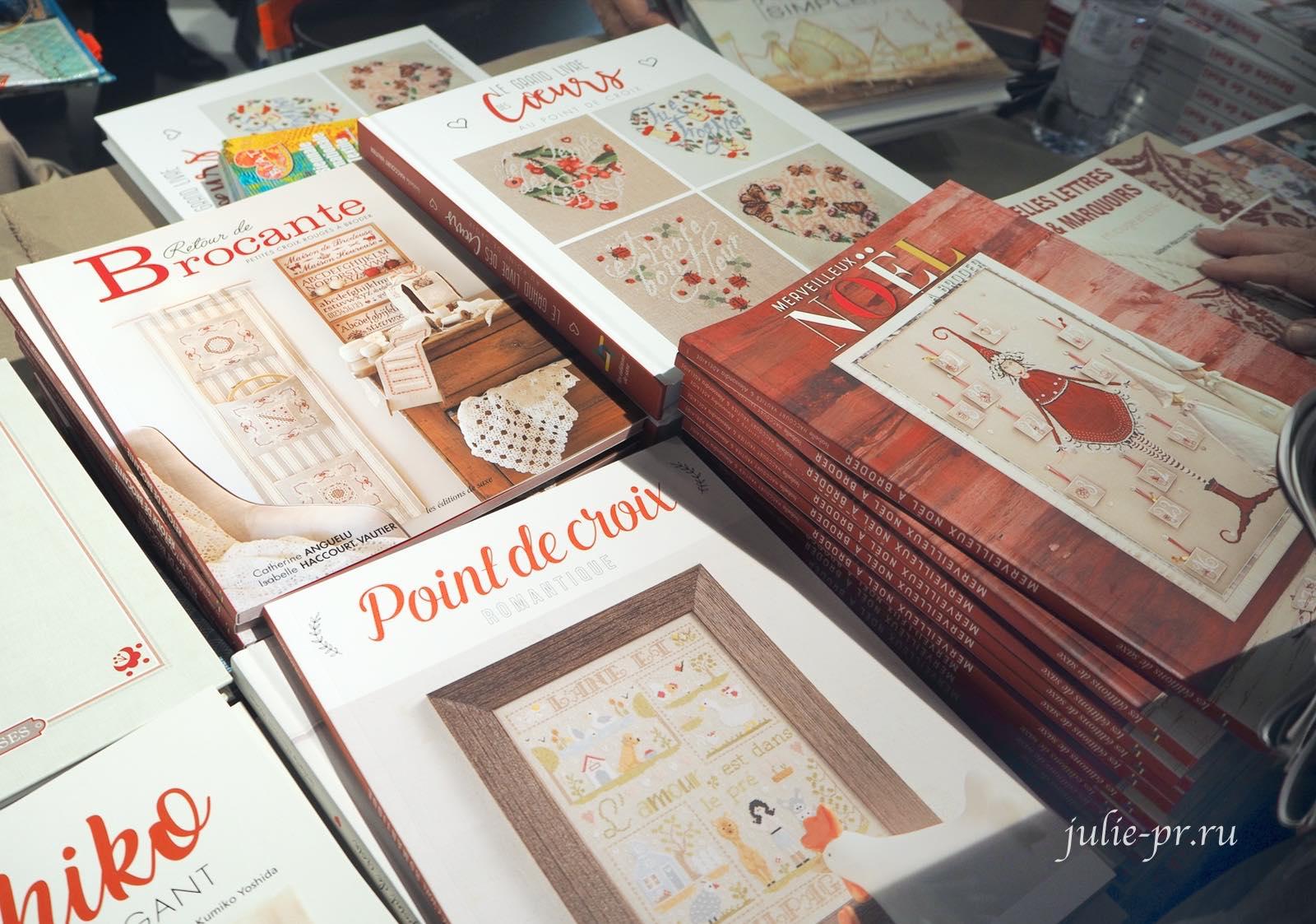 Книги Isabelle Vautier, вышивка крестом