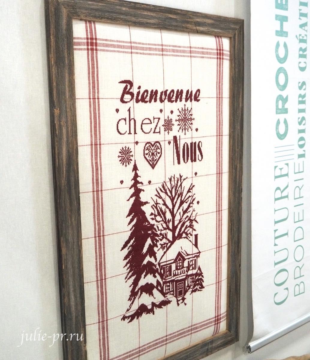 Isabelle Vautier, вышивка крестом, полотенце, Jolis torchons au point de croix