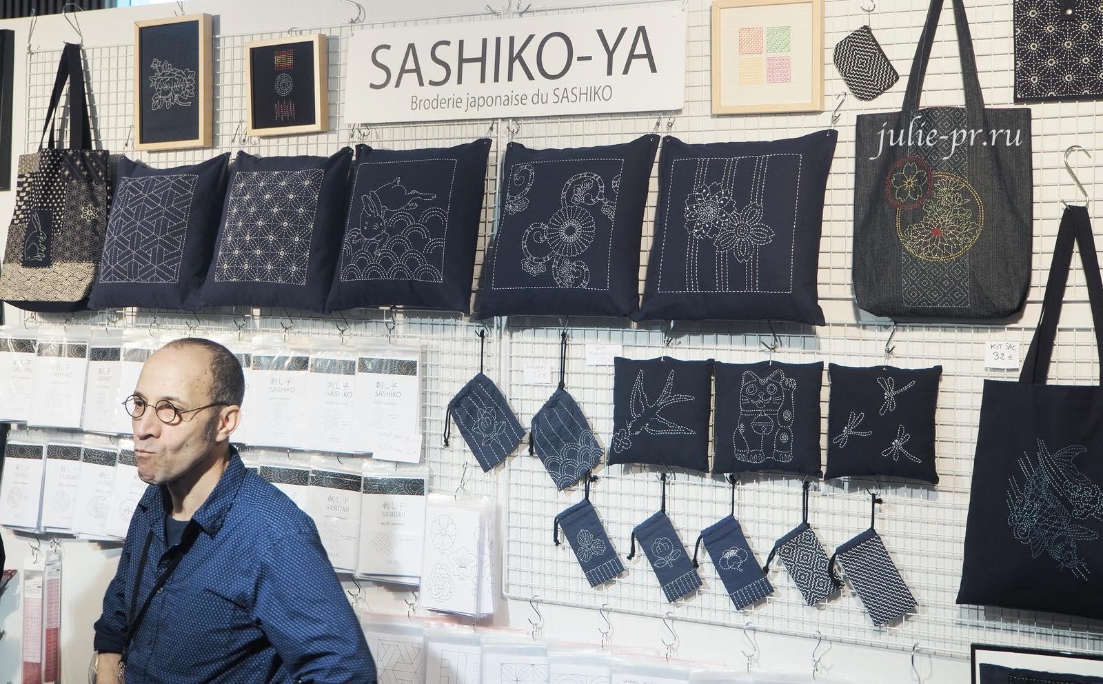 Sashiko-Ya, вышивка сашико