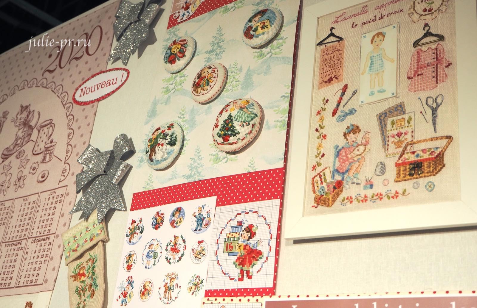 Адвент-календарь №2, схемы вышивки, вышивка крестом, Les brodeuses parisiennes, Veronique Enginger, Парижские вышивальщицы