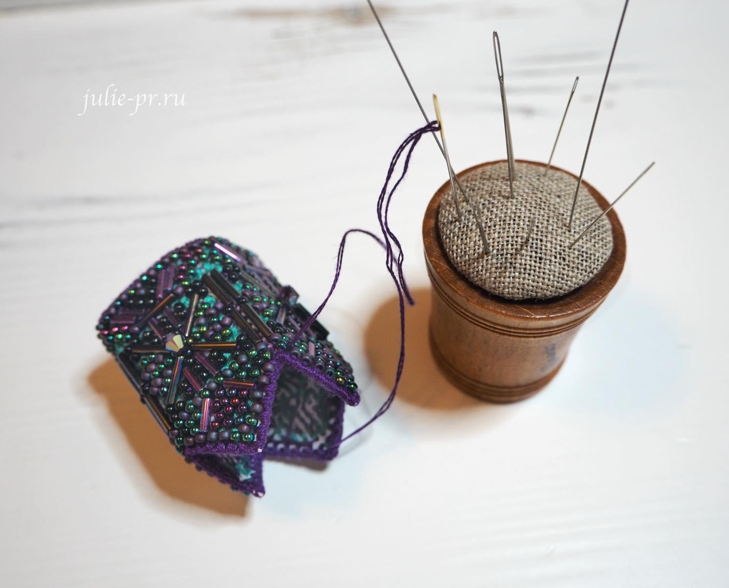 фонарики Mill Hill, tassel ornament, мастер-класс, как собрать фонарики, как сшить фонарики милл хилл, вышивка крестом и бисером