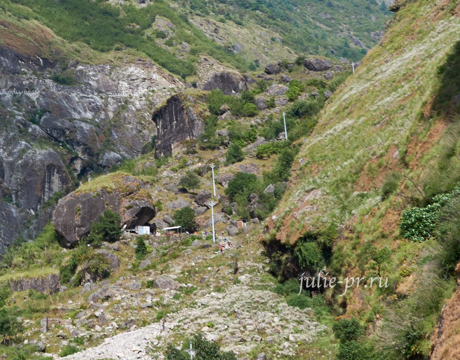 Непал, Трек вокруг Аннапурны, подъём