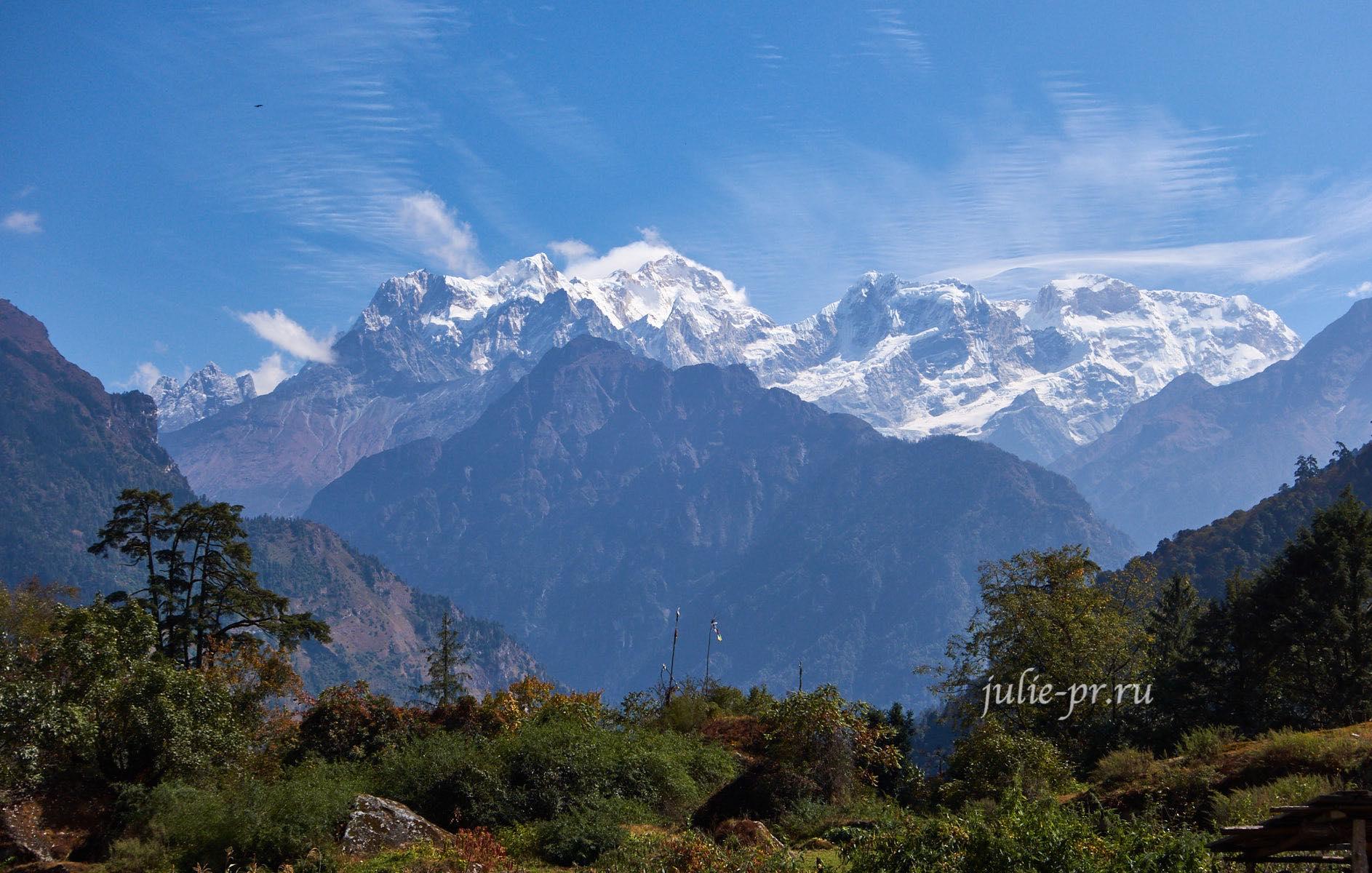 Непал, Трек вокруг Аннапурны, гора Манаслу