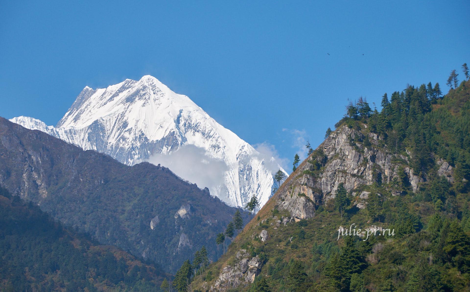 Непал, Трек вокруг Аннапурны, гора Аннапурна-II