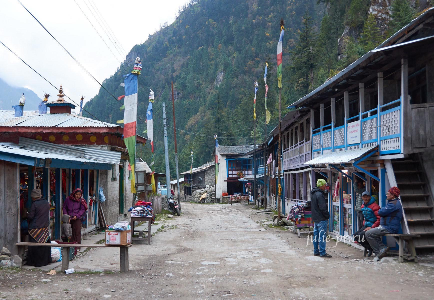 Непал, Трек вокруг Аннапурны, Деревня Кото