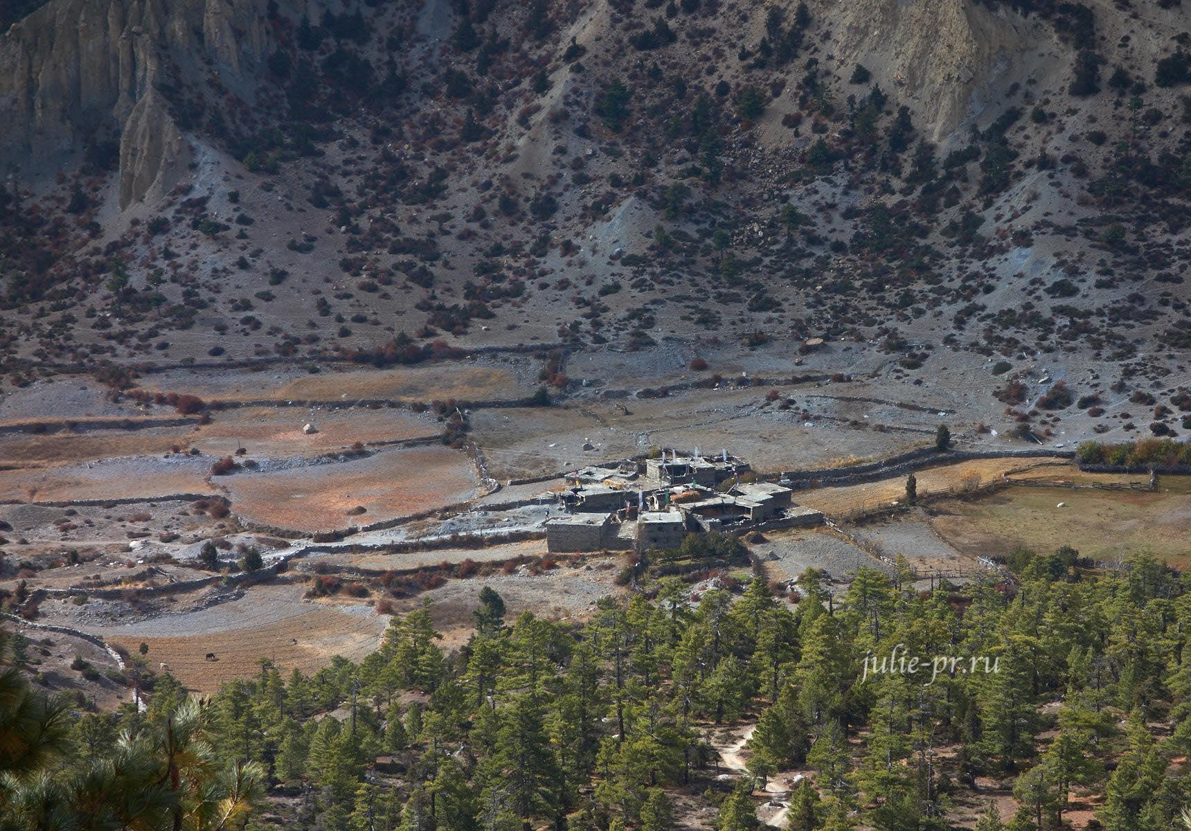 Непал, Трек вокруг Аннапурны, Деревня Chulu