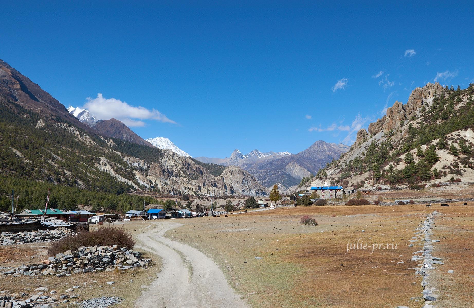 Непал, Трек вокруг Аннапурны, Mungji