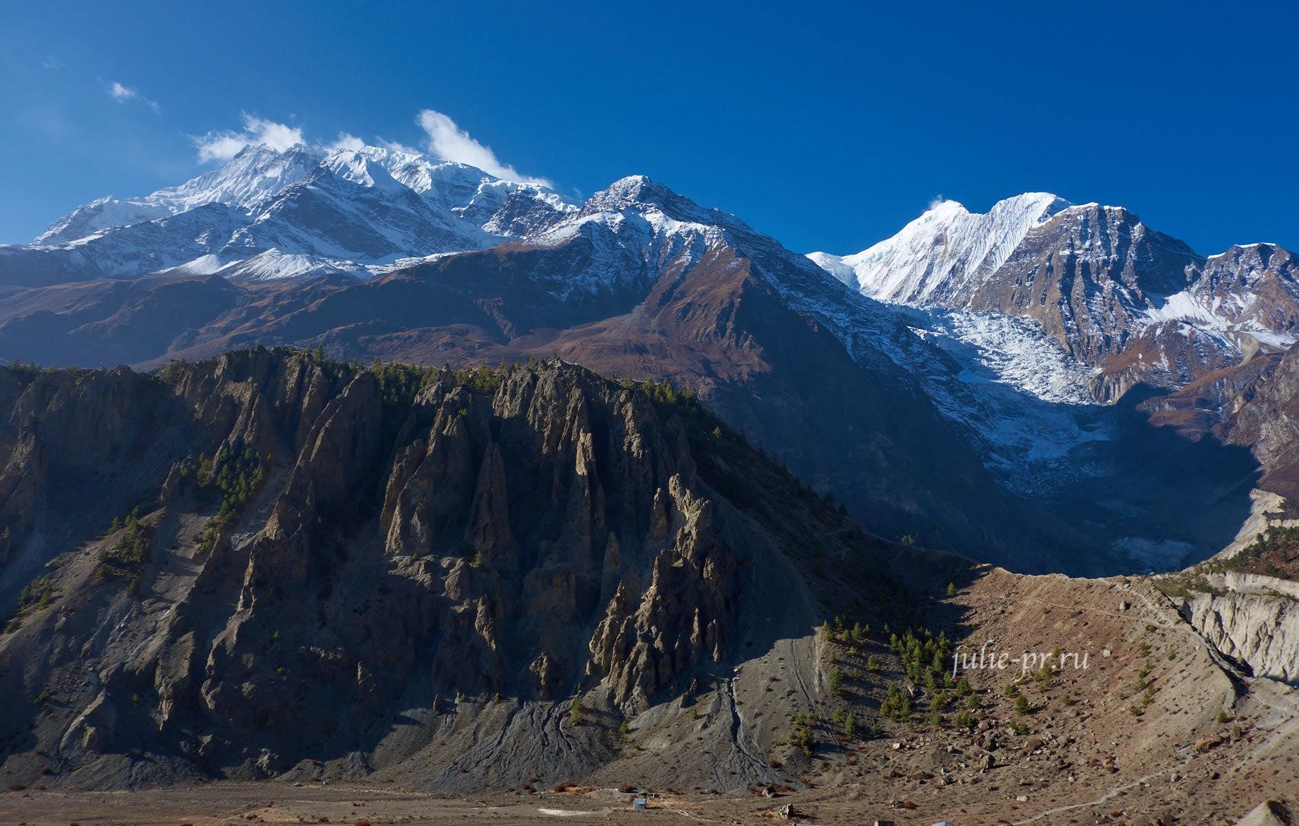 Непал, Трек вокруг Аннапурны, Аннапурна-III, Гангапурна