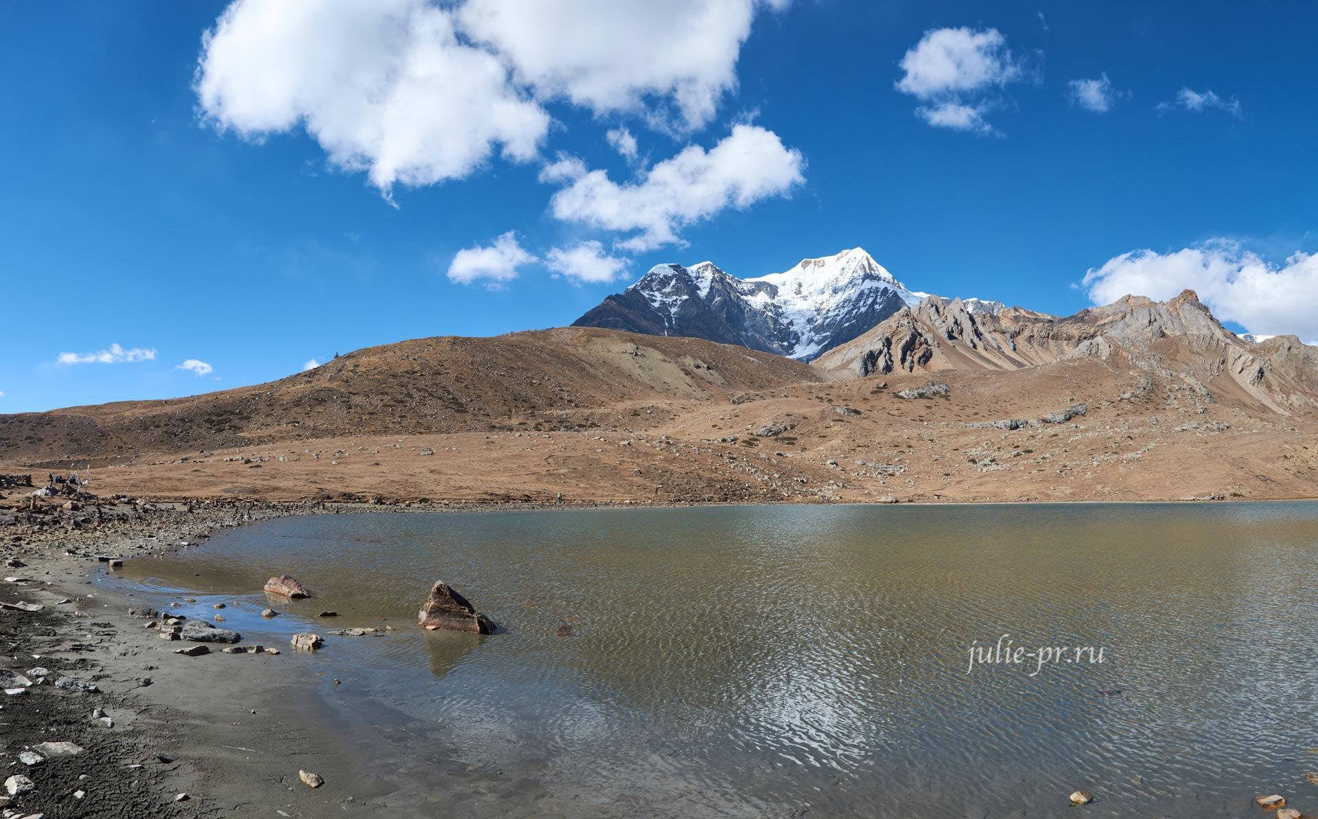 Непал, Трек вокруг Аннапурны, Ice Lake, Ледяное озеро