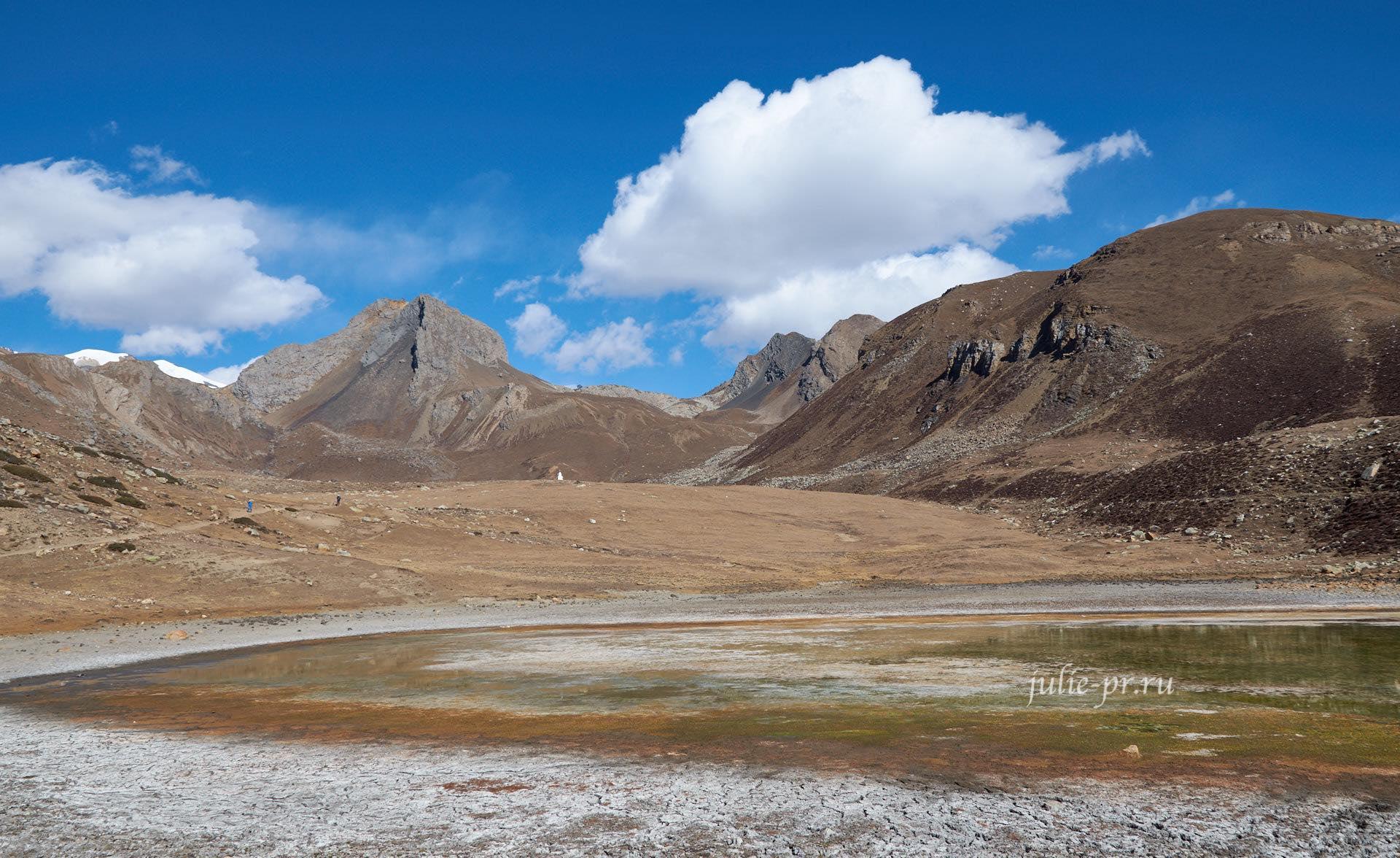 Непал, Трек вокруг Аннапурны, Ice Lake