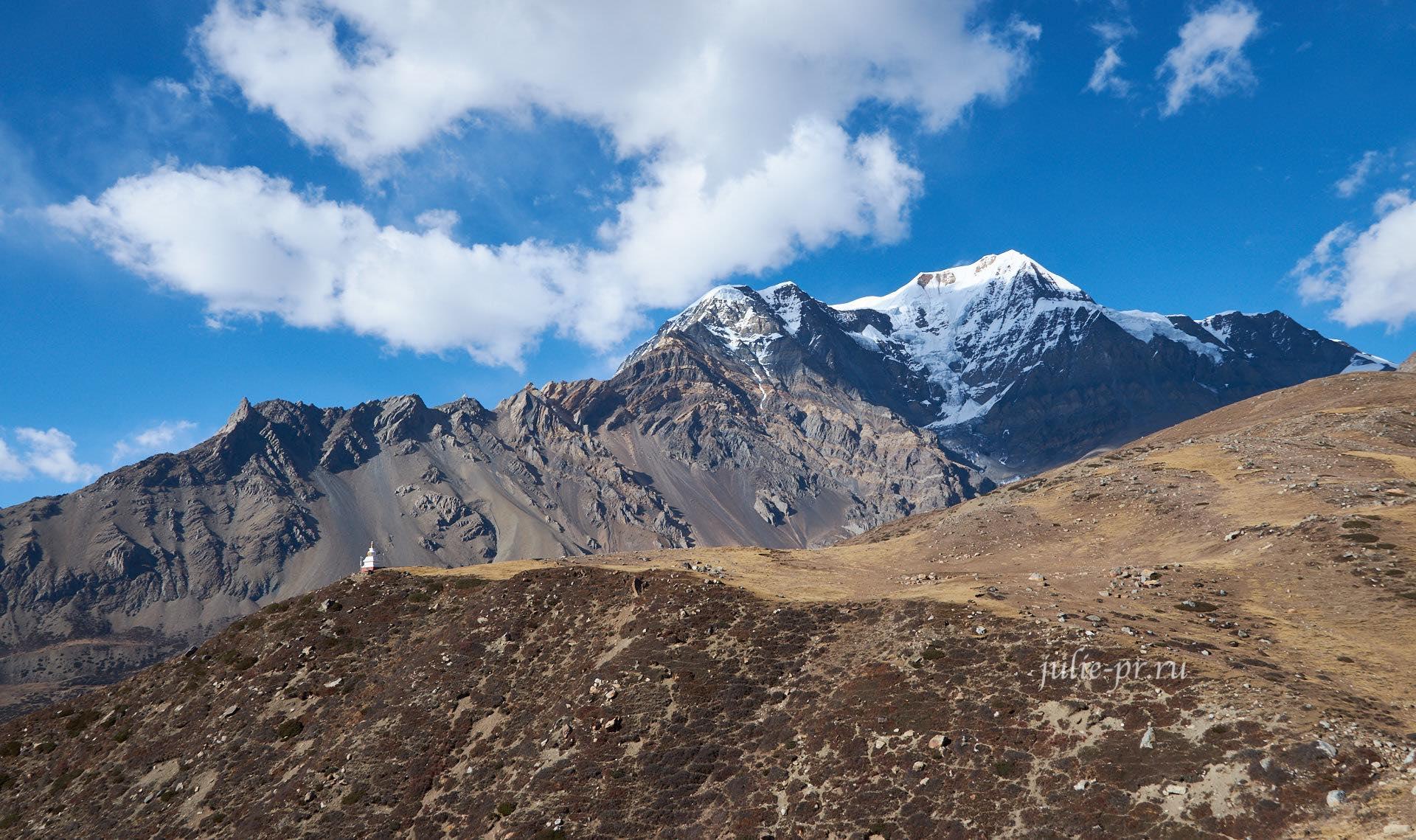 Непал, Трек вокруг Аннапурны, Гора Чулу